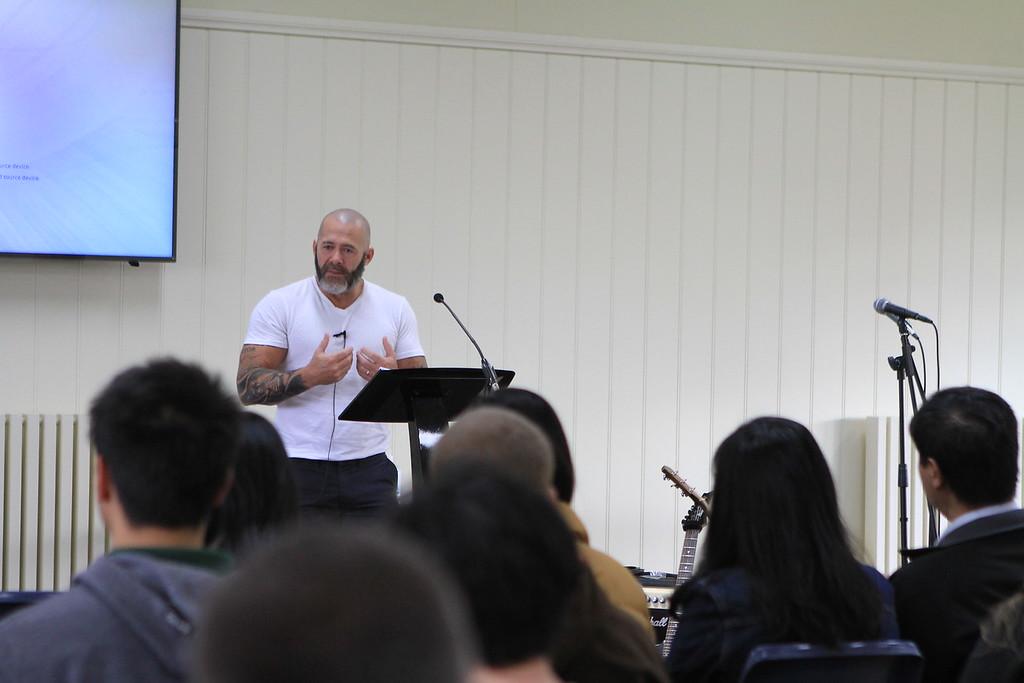 Darren Middleton Preaching Hills Bible Church Fellowship Camp